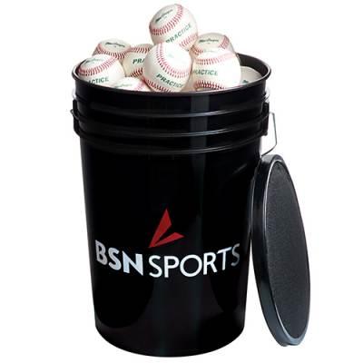 Bucket w/ Baseballs Main Image