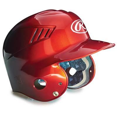 Two-Tone Vented Batting Helmets Main Image