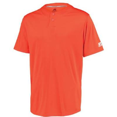 Russell Athletic Performance 2 Button Solid Jersey Main Image