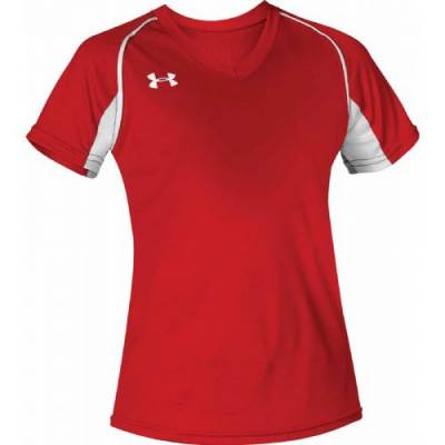 UA Women's Next V-Neck Softball Jersey Main Image