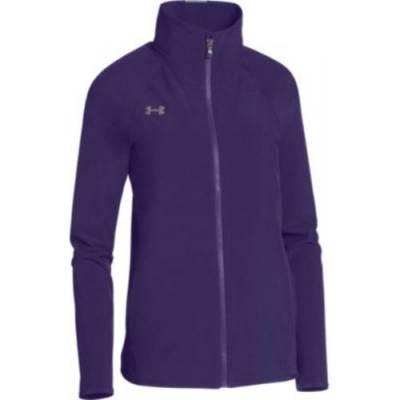 UA Women's Squad Woven Warm-Up Jacket Main Image