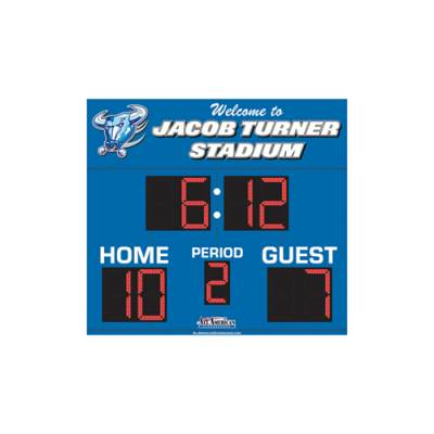 Football Scoreboard 5 x 8 Main Image