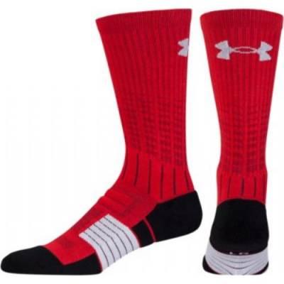 UA Unrivaled Crew Socks Main Image