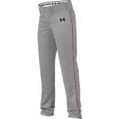 UA Next Open Bottom Baseball Pant-Braided Main Image