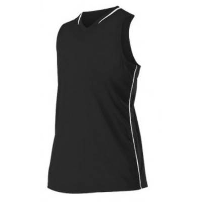 Alleson Athletic Girls' Racerback Fast-Pitch Softball Jersey Main Image
