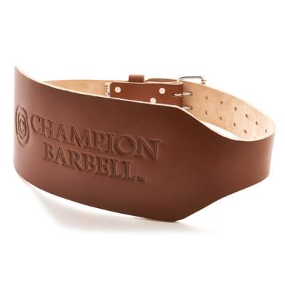 Champion Training Wt. Belt-6in Tapered Main Image