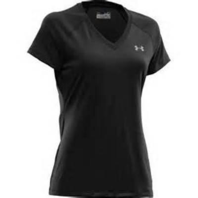 Under Armour® Tech™ Women's Short-Sleeve V-Neck T-Shirt Main Image