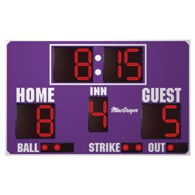 8' X 5' Baseball Scoreboard Main Image