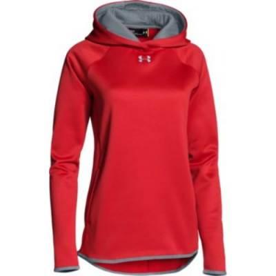 UA Women's Double Threat Armour Fleece Hoody Main Image
