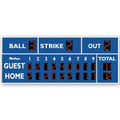 20' X 8' Baseball Scoreboard Main Image