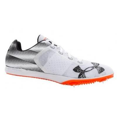 UA Kick Distance Spike Shoes Main Image