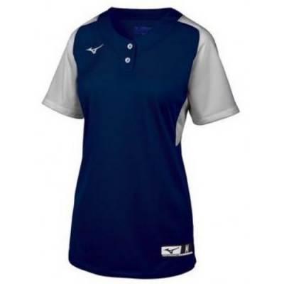 Mizuno Women's Aerolite 2-Button SB Jersey Main Image