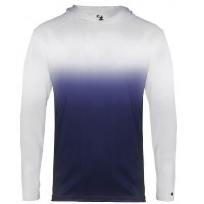 Badger Youth Ombre Hood Tee Main Image