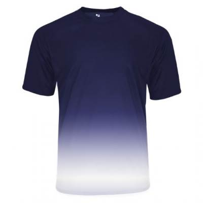 Badger Reverse Ombre Tee Main Image