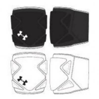 UA Switch 2.0 Volleyball Knee Pad Main Image