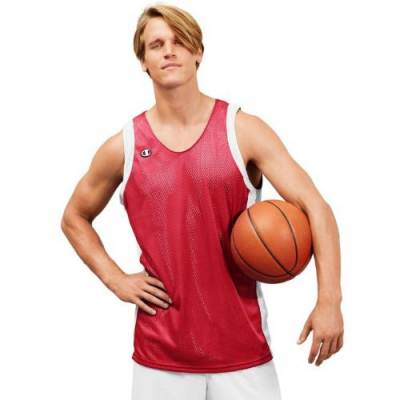 Champion® Men's Reversible Sleeveless Practice Basketball Jersey Main Image