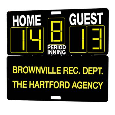 Multi-Sport Manual Outdoor Scoreboard Main Image