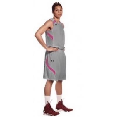 UA Women's Stock Clutch Reversible Jersey Main Image