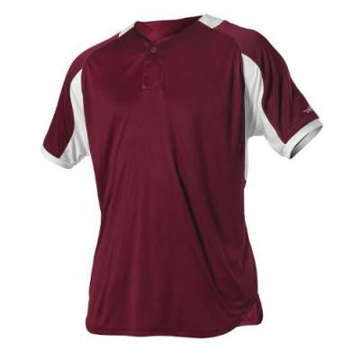 Alleson One Button Baseball Jersey Main Image