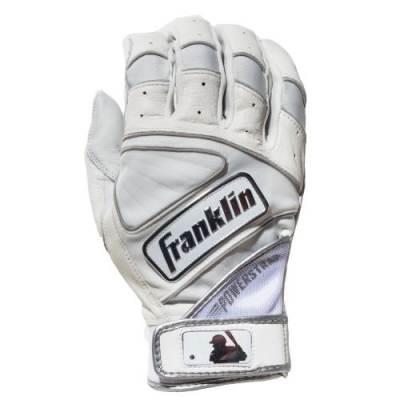 Franklin Powerstrap Chrome Batting Gloves Main Image