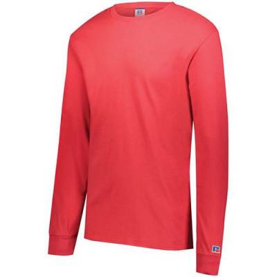 Russell Athletic Combed Ring Spun Long Sleeve Tee Main Image