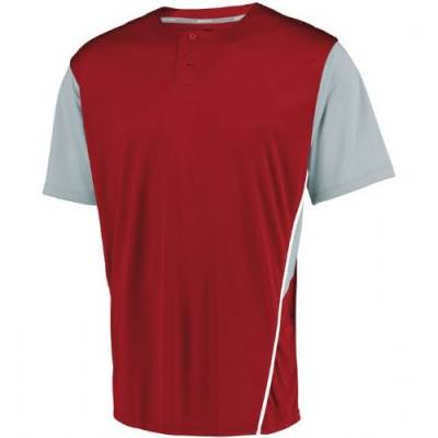 Russell Athletic Youth Performance 2 Button Colorblock Jersey Main Image