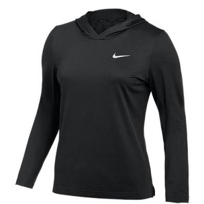 Nike Women's Long Sleeve Hyper Dry Hood Main Image