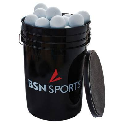 Bucket with Lacrosse Balls Main Image
