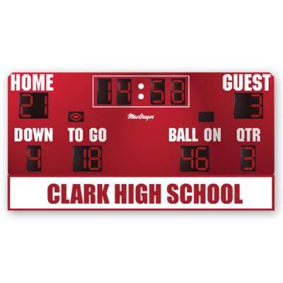 Custom Logo on MSBFB4 Scoreboard Main Image