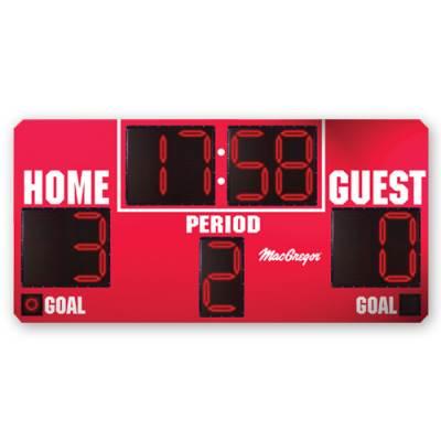 8' X 4' Soccer Scoreboard Main Image