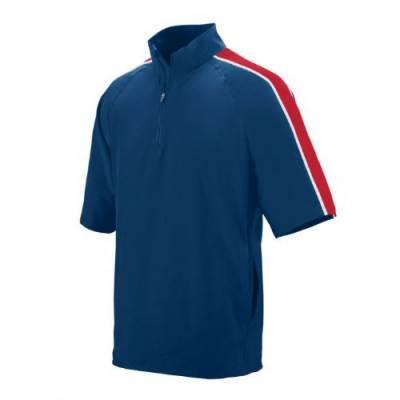 Augusta Quantum Short Sleeve Windshirt Main Image
