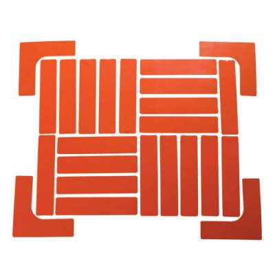 Quick Mark Boundary Markers Set Orange Bsn Sports