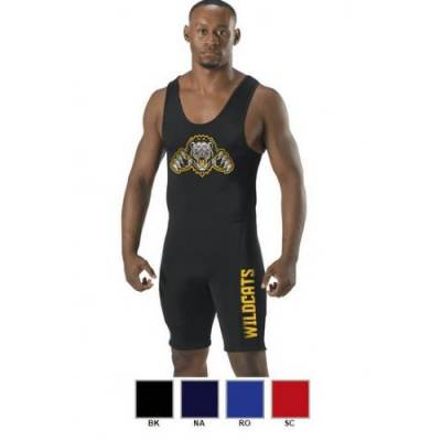 Alleson Youth Wrestling Singlet Main Image