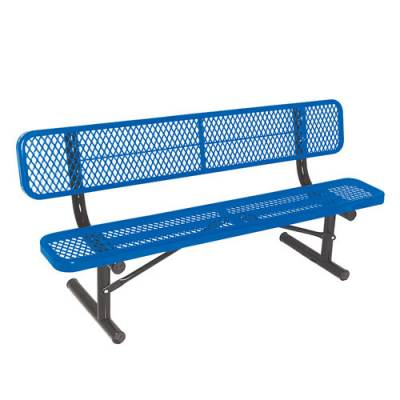 Ultracoat™ Thermoplastic Coated Benches Main Image