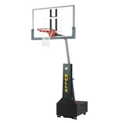 Club Court Portable Basketball Systems Main Image