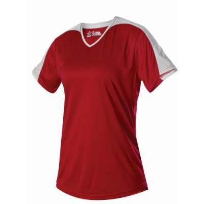Alleson Women's V-Neck Softball Jersey Main Image