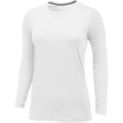 Nike Women's Core Long Sleeve Cotton Crew Main Image