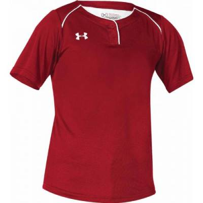 UA Women's Next 2-Button Softball Jersey Main Image