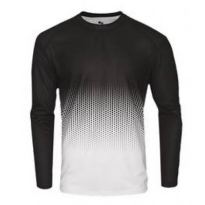 Badger Youth Hex 2.0 L/S Tee Main Image