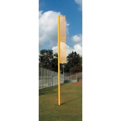"Professional Foul Poles (3 1/2"" OD Poles) Main Image"
