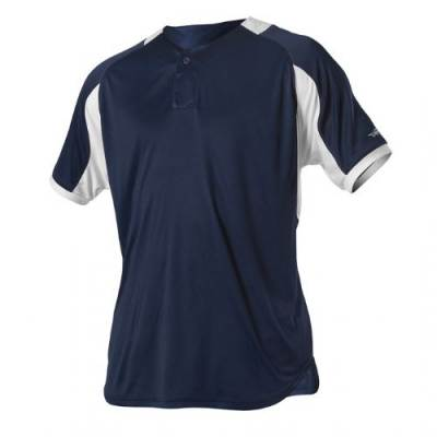 Alleson Youth One Button Baseball Jersey Main Image