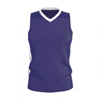 Alleson Youth Single Ply Basketball Jersey Main Image