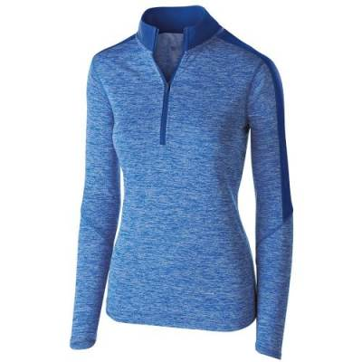 Holloway Ladies' Electrify 1/2 Zip Pullover Main Image