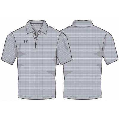 UA Raise Stripe Polo Main Image