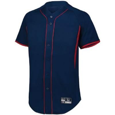 Holloway Full Button Baseball Jersey Main Image