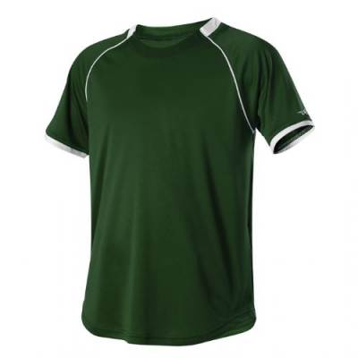 Alleson Youth Two Color Crew Neck Baseball Jersey Main Image