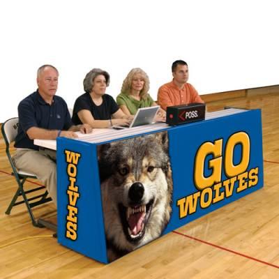 Bison Sport Pride Scorers Table - Floor Model Main Image