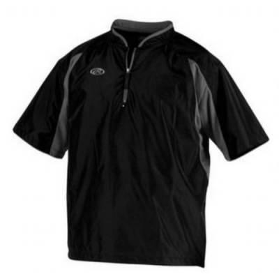 Rawlings® Men's Short-Sleeve 1/4-Zip Baseball Cage Jacket Main Image