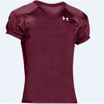 Under Armour® Rollout Stock Men's Short-Sleeve V-Neck Football Jersey Main Image