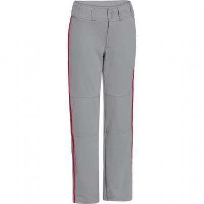 Under Armour® Leadoff Boys' Loose-Fit Piped Baseball Pants Main Image
